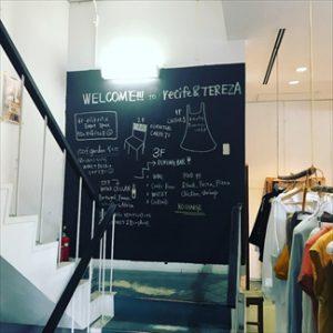 店舗 階段(踊り場)