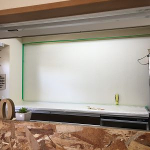 【O様邸】DIYペイント(キッチン背面部)