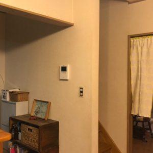 【S様邸】DIYペイント(キッチン横壁面)