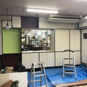 【松栄堂様】DIY事例 店舗改修ペイント