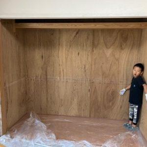 【N様邸】子供部屋(和室) DIYペイント